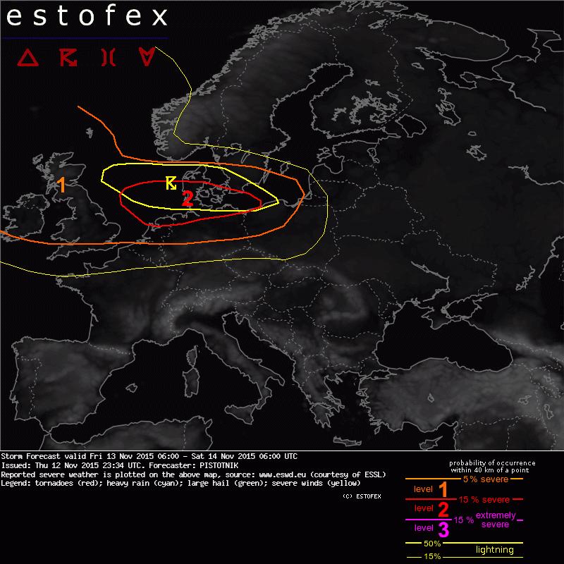 Stormchasen in nederland met een schuin oog naar amerika - Noordelijke deel ...