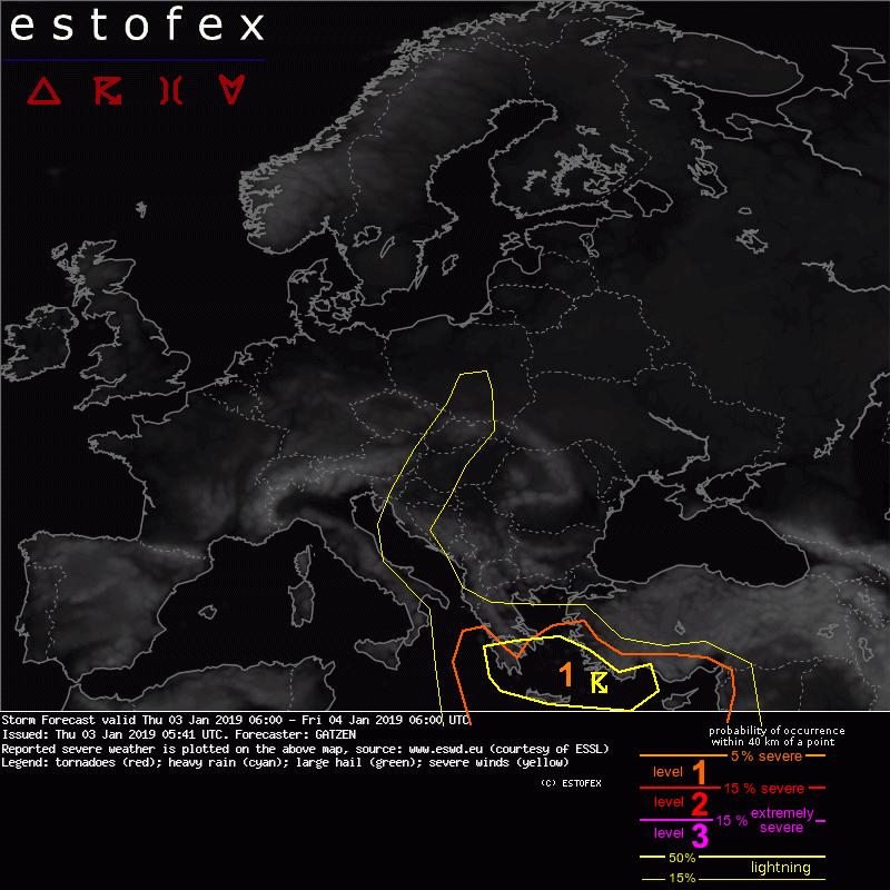 Mapa Risc de Tempestes