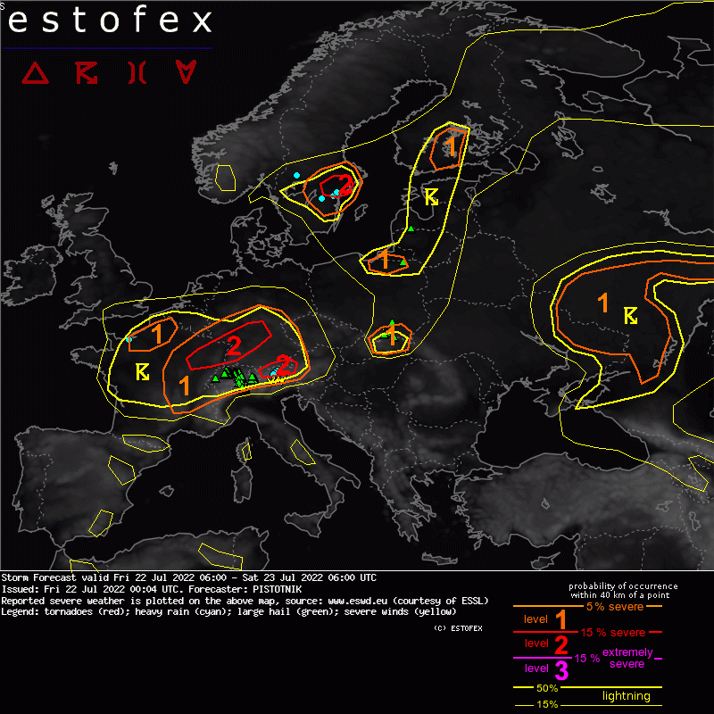 European Storm Forecast Experiment
