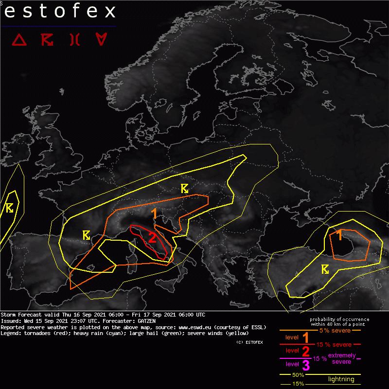 European Storm Forecast Experiment